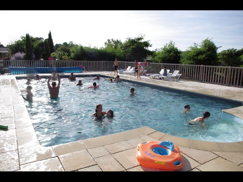 La piscine du Domaine de Kervallon - Caro - Morbihan - Bretagne