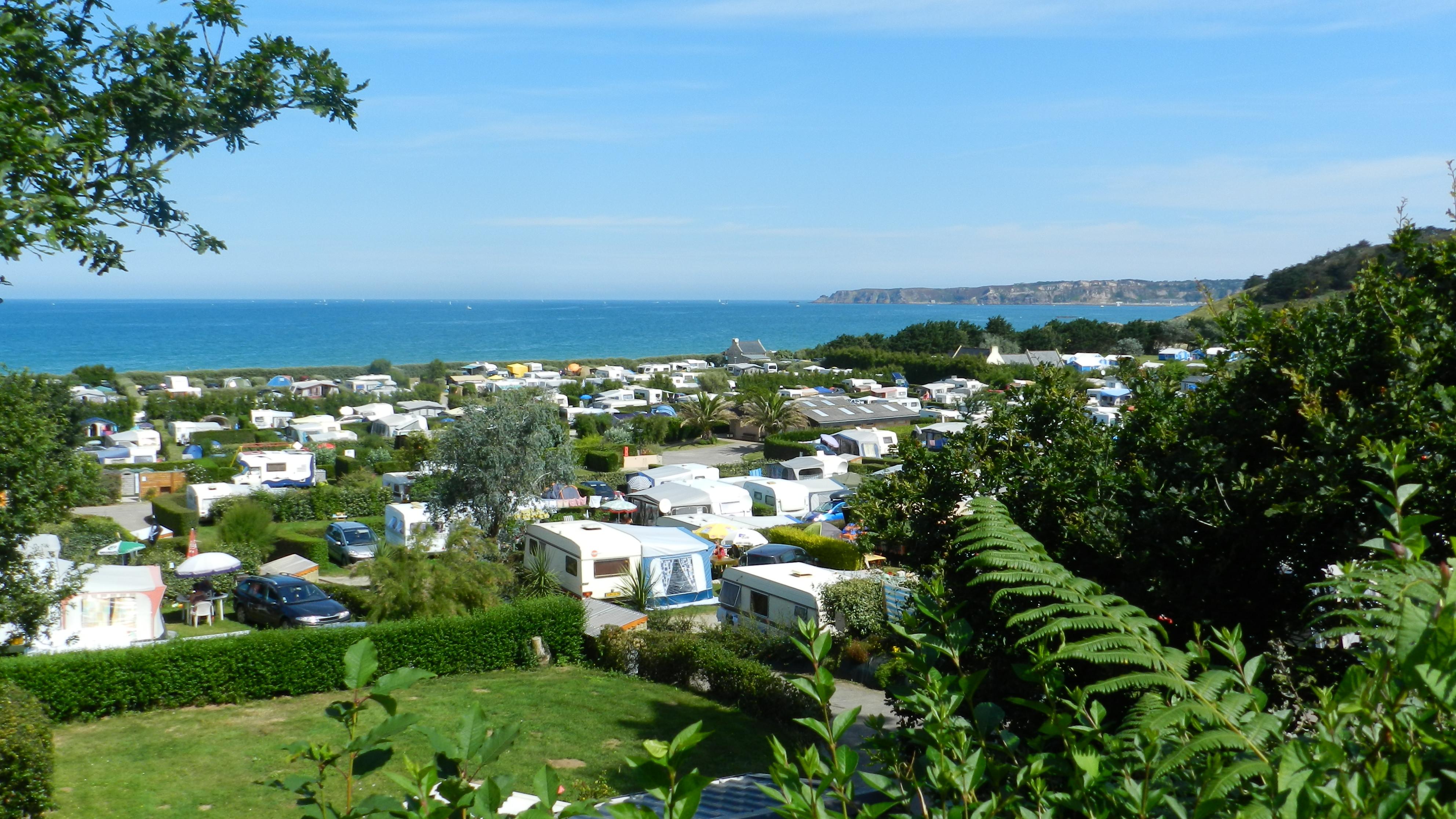 Camping de la Plage de Saint-Pabu et de la Ville Berneuf